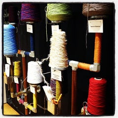 Photo taken at Lion Brand Yarn Studio by Haley P. on 12/30/2012