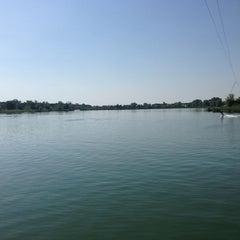 Photo taken at KLI waterski school by Andrea B. on 6/8/2013