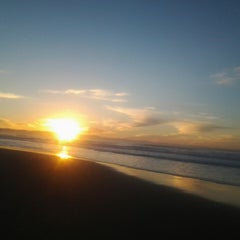 Photo taken at Jeffreys Bay by Renee E. on 6/28/2013