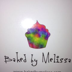 Photo taken at Baked By Melissa by Dava W. on 10/9/2013