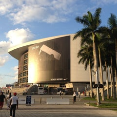 Photo taken at American Airlines Arena by Pablo C. on 5/15/2013
