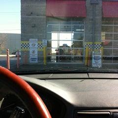 Photo taken at Scrub-A-Dub Car Wash and Oil Change by Brianna B. on 10/26/2012