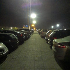 Photo taken at Парковка P5/ Parking by фёдр к. on 5/8/2013