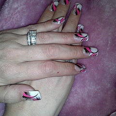 Photo taken at Fancy Nails by Tawnya W. on 8/12/2013