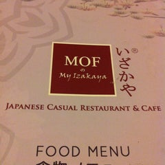 Photo taken at MOF の My Izakaya, Japanese Casual Resturant & Cafe by Winnie S. on 11/2/2012