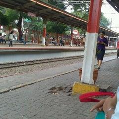 Photo taken at Stasiun Duren Kalibata by Suryadi A. on 11/2/2012