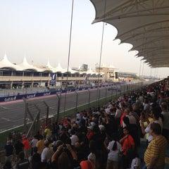 Photo taken at Bahrain International Circuit by Sridharan V. on 4/21/2013