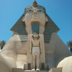 Photo taken at Luxor Hotel & Casino by Aleš S. on 5/10/2013
