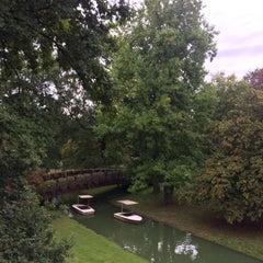 Photo taken at Karl-Birkmann-Brücke (Zoobrücke) by Duygu K. on 9/16/2015