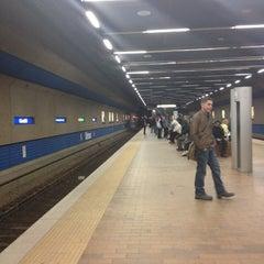 Photo taken at Churchill LRT Station by Caitlyn E. on 11/2/2012