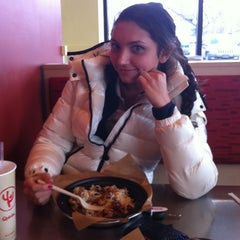 Photo taken at Qdoba Mexican Grill by Abby C. on 1/17/2013