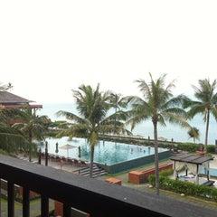 Photo taken at Hansar Samui Resort & Spa by Terrence C. on 3/13/2013