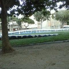 Photo taken at Parc Gandhi by Pablo H. on 9/13/2013