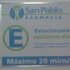 Photo taken at Farmacia San Pablo by Romina I. on 11/18/2012