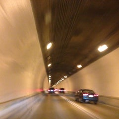 Photo taken at Liberty Tunnel by Amy F. on 7/27/2014