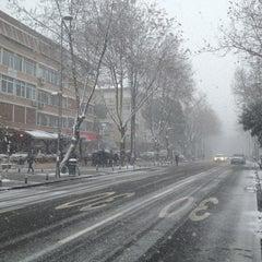 Photo taken at Bağdat Caddesi by Emir K. on 1/8/2013