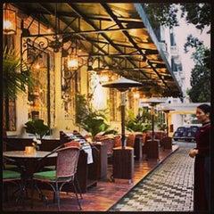 Photo taken at La Terrasse @ Sofitel Metropole Hotel by Boon Y. on 11/7/2013