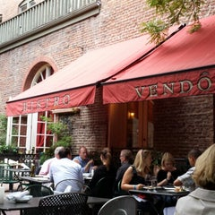 Photo taken at Bistro Vendome by Ryan on 8/6/2013