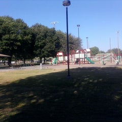 Photo taken at Evergreen Park by Jodie B. on 5/17/2013
