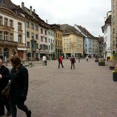 Photo taken at Fronwagplatz by Denis D. on 4/28/2013