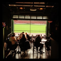 Photo taken at Bleacher Bar by Allie M. on 11/6/2012