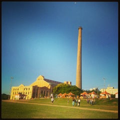 Photo taken at Usina do Gasômetro by Bruna N. on 12/24/2012