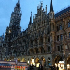 Photo taken at München by Cetin Y. on 5/13/2013