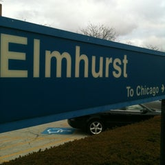 Photo taken at Metra - Elmhurst by John O. on 12/8/2012