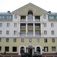 Photo taken at Volkhov Hotel Veliky Novgorod by Фелиция-Тур on 11/15/2012