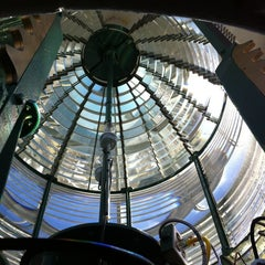 Photo taken at Absecon Lighthouse by Philipp S. on 2/3/2013