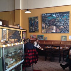 Photo taken at Mount Bakery Cafe by Suzy T. on 2/23/2014