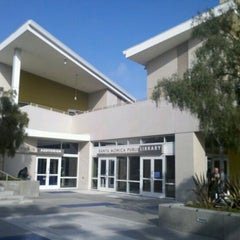Photo taken at Santa Monica Public Library - Main by Rebecca S. on 3/26/2013