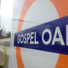Photo taken at Gospel Oak London Overground Station by Anthony I. on 1/8/2013