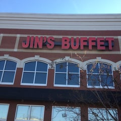 Photo taken at Jin's Buffet by Chip M. on 11/25/2012