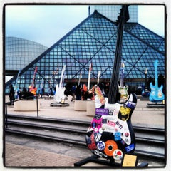 Photo taken at The Rock and Roll Hall of Fame and Museum by Angela Z. on 10/13/2012