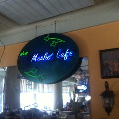 Photo taken at The Market Cafe by Scott U. on 6/24/2013