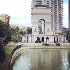 Photo taken at Millennium Gate by Rosie F. on 8/18/2014
