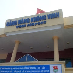 Photo taken at Vinh Airport (VII) Sân bay Vinh by Tien T. on 9/19/2014