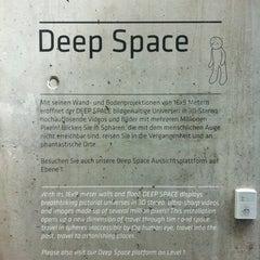 Photo taken at Deep Space by Lotus B. on 4/14/2013