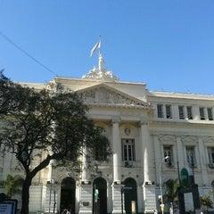Photo taken at Facultad de Ciencias Económicas (UBA) by Cristian D. on 11/3/2012