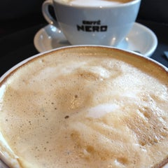 Photo taken at Caffè Nero by Clare M. on 4/22/2013