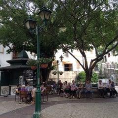 Photo taken at Largo do Lilau / Lilau Square 亞婆井前地 by Conrad Y. on 6/17/2014