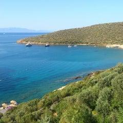 Photo taken at Kempinski Hotel Barbaros Bay by Sercan S. on 6/25/2013