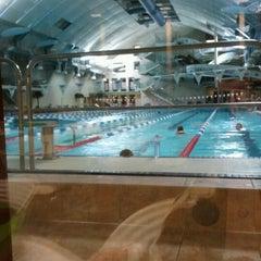Photo taken at Kalev Spa Hotell & Veekeskus by Erika P. on 11/25/2012
