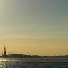 Photo taken at Battery Park by Nick S. on 11/14/2012