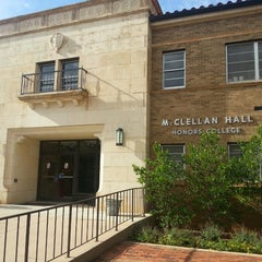 Photo taken at TTU - McClellan Hall - Honors College by Heather M. on 6/18/2013