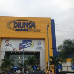 Photo taken at Diunsa Superstore by Kevin M. on 4/7/2013