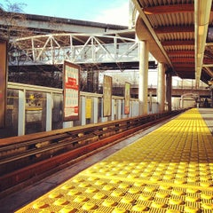 Photo taken at Commercial - Broadway SkyTrain Station by Kevin L. on 1/17/2013