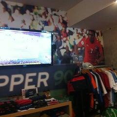 Photo taken at Upper 90 Soccer Store by Karina K. on 3/10/2013