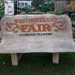 Photo taken at Westmoreland Fairgrounds by Tina B. on 8/21/2013
